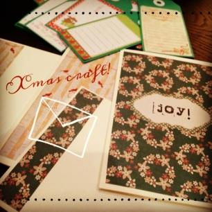 2013 Xmas cards - blog